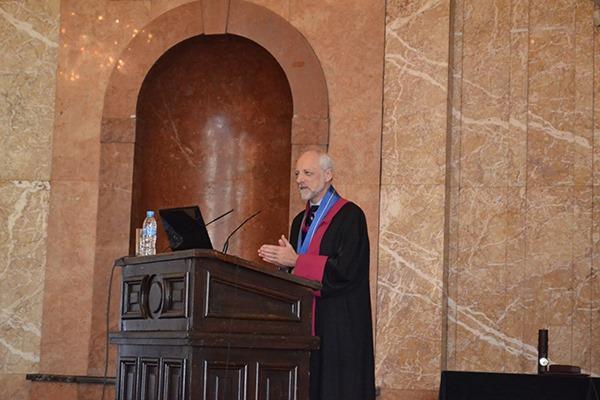 Sofia University - Doctor honoris causa - Professor A. Lindsay Greer - 2 December 2019